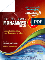 Tell Me About Mohammed Pbuh In English and Telugu