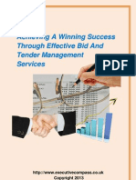Achieving A Winning Success Through Effective Bid And Tender Management Services