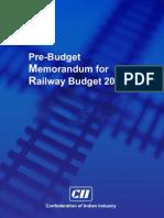 Pre Budget 2013-14