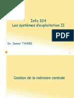 Info324 Memoire