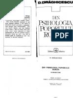 D Draghicescu Din Psihologia Poporului Roman