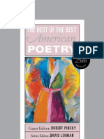 The Best of the Best American Poetry, 25th Anniversary Edition