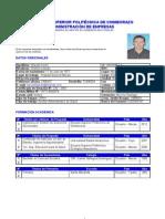 Curriculum Lisardo 2013