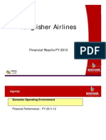 Presentation of Kingfisher Airlines Results FY12