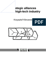 Klincewicz - Strategic alliances in the high-tech industry