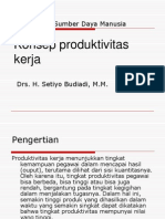14Konsep produktivitas kerja (Manajemen Sumber Daya Manusia)