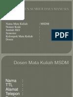1 Manajemen Sumber Daya Manusia (Manajemen Sumber Daya Manusia).ppt
