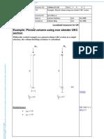 Simple Column Design Example