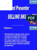 Bahan Training Selling Skill BP