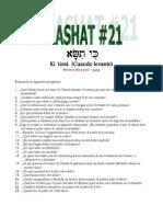 PARASHAT _ 21_ 5769