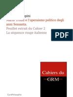 Mario Tronti e l'operaismo politico degli anni Sessanta