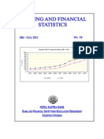 Banking and Financial Statistics--No 58 July 2012
