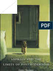 """""""Animals and the Limits of Postmodernism,"""" by Gary Steiner"""