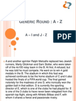 Game Theory 2013 A - Z