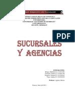 Trabajo Sucursales y Agencias