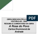 05 - A Rosa do Povo – Carlos Drummond de Andrade