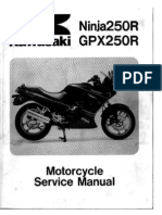 Kawasaki Ninja 250 Manual