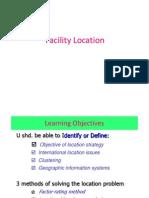 5d. Facility Location