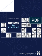 Screws for Plastics