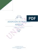 trabajo e procesal civil adopción de adultos