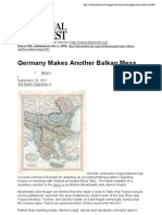 Germany Makes Another Balkan Mess