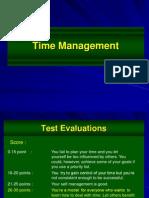 Time Management - A