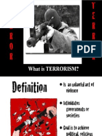 Terrorism-what,why,how -Sayed hassan beary