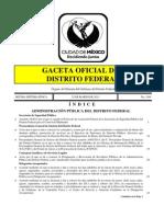 Protocolo de actuación policial para el control de multitudes del DF