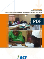 International Technical Policy and Strategy 2013