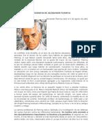 Biografia de Alexander Fleming