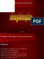 Hemoglonopatias- Trabalho 1 Em Powerpoint