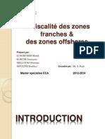 La fiscalité des zones franches au Maroc