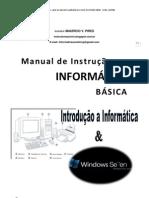 Informática  Básica Parte 1 Introdução e Windows7
