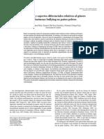 Prevalencia y Aspectos Diferenciales Relativos Al Genero Del Fenomeno Bullying en Paises Pobres