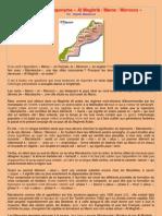 "Etymologie du toponyme ""Maroc"""