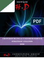 CROWDSOURCING & CUSTOMER SERVICE - STRATEGIC ANALYSIS