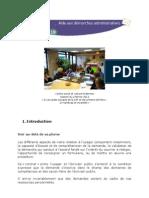 AIDEMA19 - Texte de La Formation Orienter Les Usagers - 23 Mars 2013