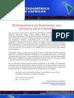 El despotismo en Venezuela - Latinoamérica con Capriles