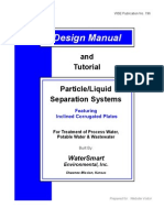 WP 0796 Design Manual and Tutorial Particle Liquid Separation Systems