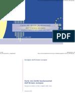 Carta Dei Diritti Fondamentali dell' Unione Europea