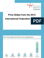 International Federation of Health Plans report on health care prices