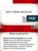 Soft Drink Industry Final