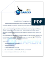 Energy & Emission Tracking & Reporting