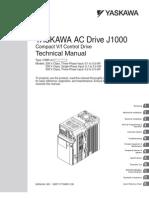 Manual J1000