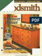 Crafts - Woodworking - Magazine - (eBook) - Woodsmith #148 - 9 Drawer Dresser