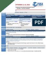 Felaban Clab 2013 - Agenda - English Version