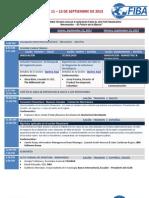 FELABAN CLAB 2013 - Agenda Preliminar - Español