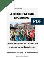 Aos 140 000 Profess Ores de PORTUGAL