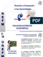 Evaluacion Alternativa