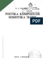 Poetika Kompozicije Semiotika Ikone - Uspenski 1979